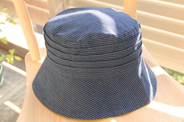 画像1: 帽子吉田縞 (1)